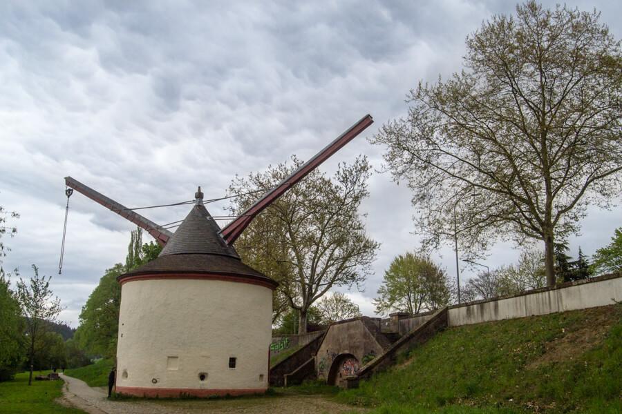 Les  moulins de trèves