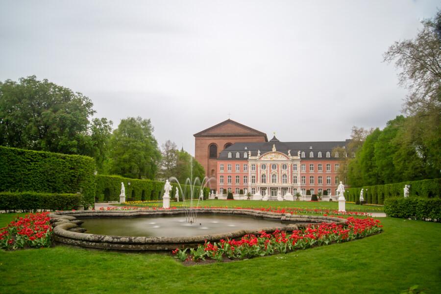 Le palais de Trèves en Allemagne