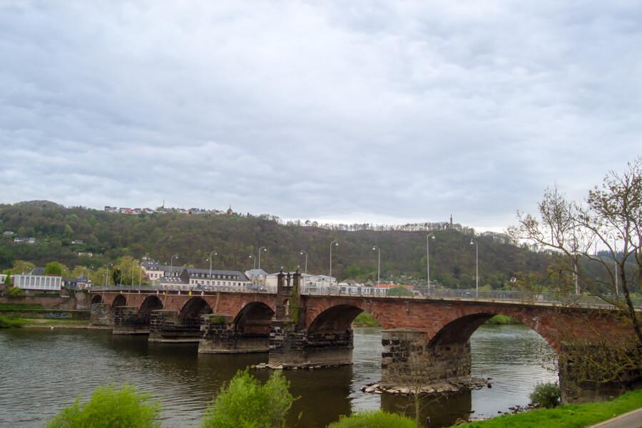 Le plus vieux pont d'allemagne à Trèves