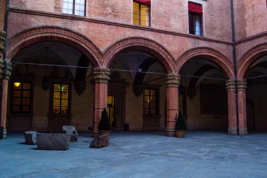 les arcades de Bologna
