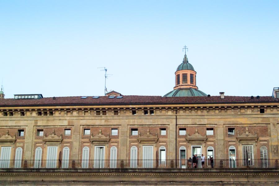 Piazza Maggiore  et ses batiments
