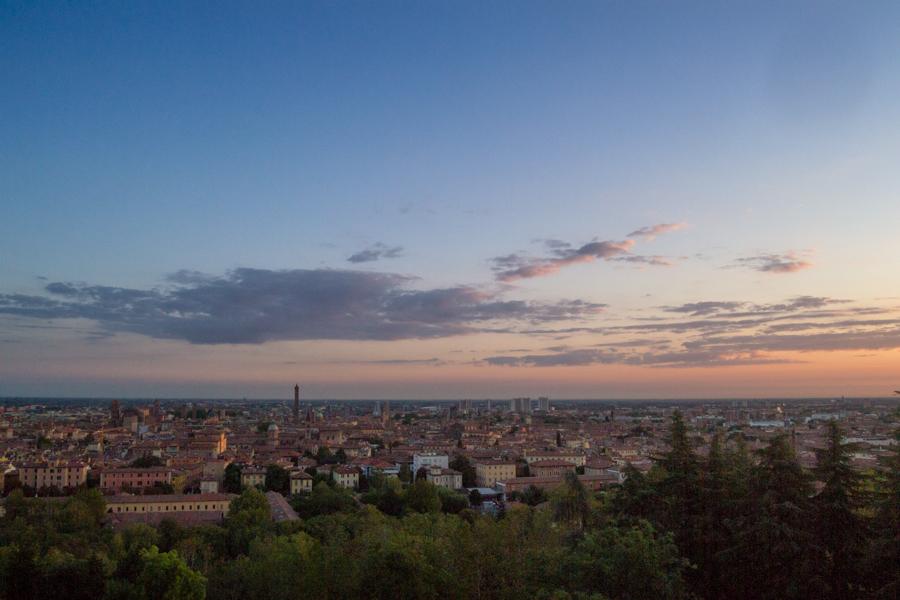 panorama de la ville de Bologne Italie