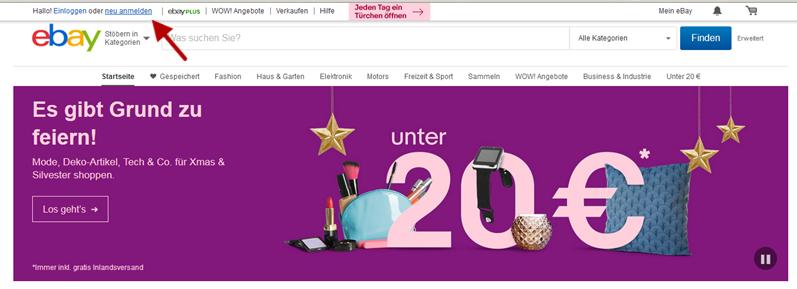 Petites annonces sur ebay Allemagne