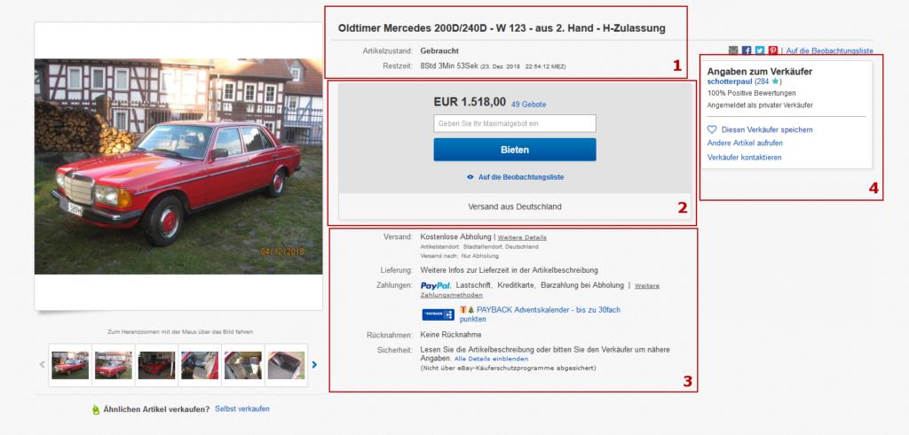 Ebay en Allemagne pour trouver des bonnes affaires